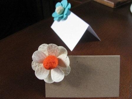 DIY kit for plantable flower escort cards- set of 120