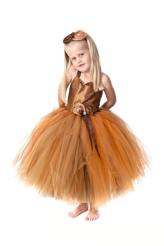 Fall Flower Colors Fall Flower Girl Dresses Fall Wedding Dress In Fall