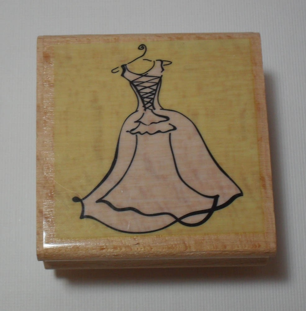 wedding dress rubber stamp xxx albums