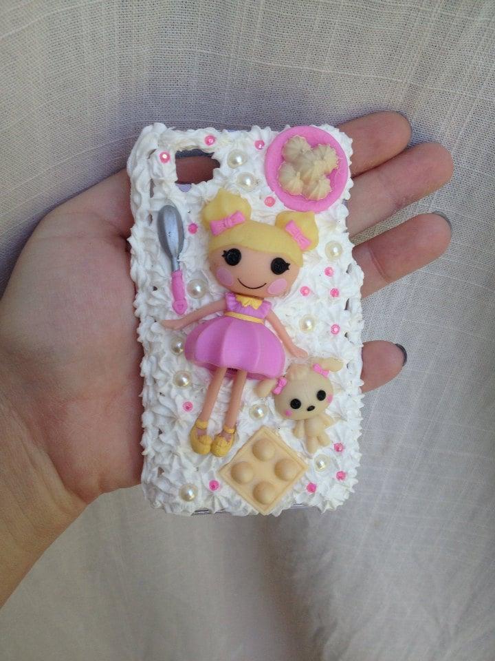 Items similar to iPhone 4S Lalaloopsy Dollop Light 'n ... Lalaloopsy Dollop Light N Fluffy
