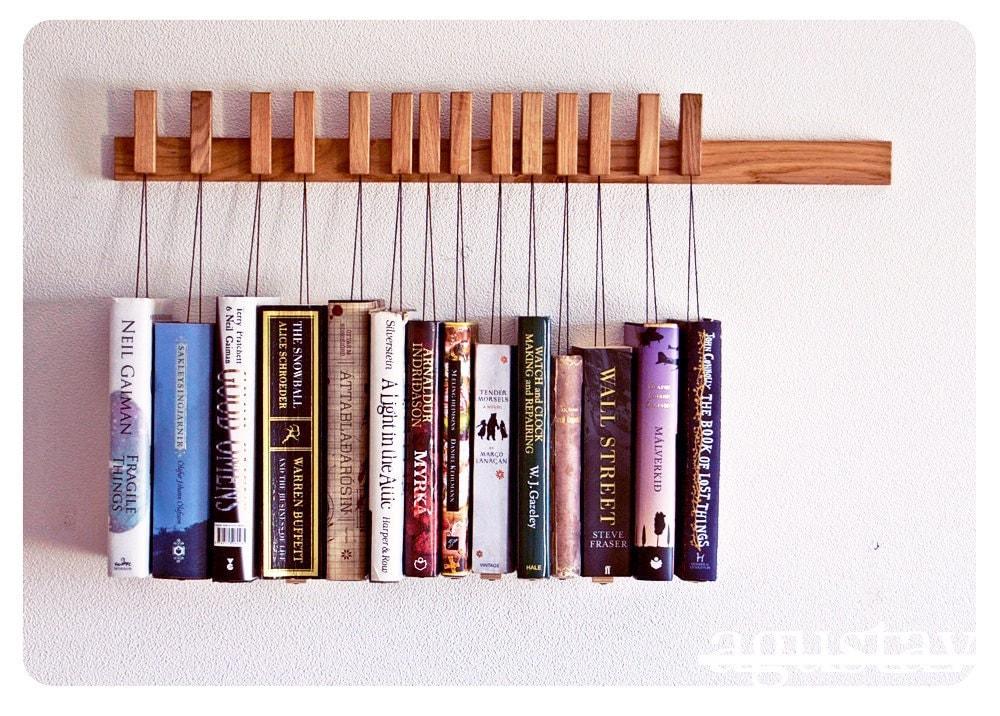 Wood Book Rack ~ Shop wooden book racks mom inc daily