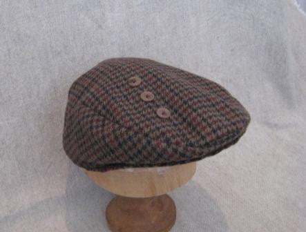 Ivy Cap Flat Cap Andy Capp Hat Medium Size Sample Price By