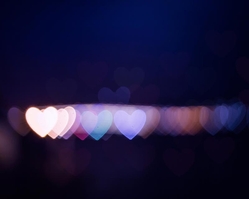 hearts photography bokeh abstract photography by