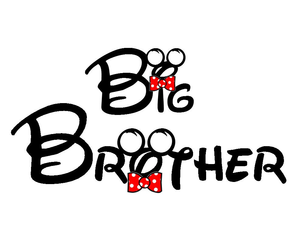 Disney Big Brother Iron on Transfer Decal(iron on transfer, not ...