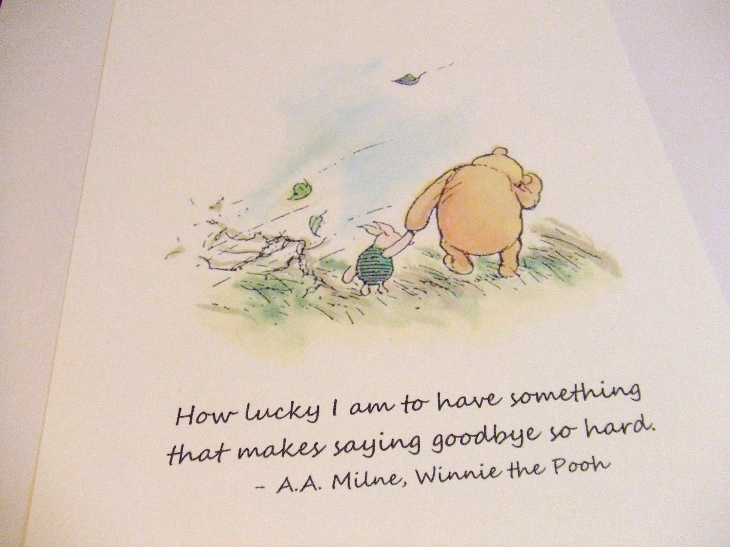 How To Have Good Luck Glamorous Of Winnie the Pooh How Lucky I AM to Have Picture