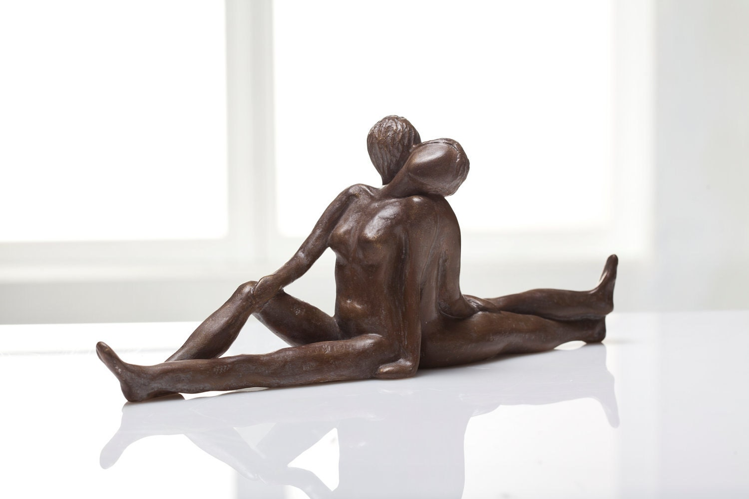 Peaceful Harmony - Man and Woman Sculpture - gilispencer