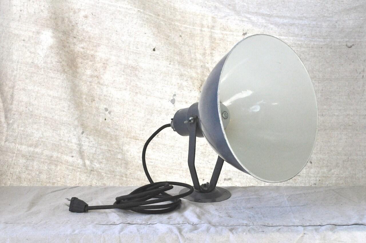 Wall Mounted Work Lights : Vintage Steber Industrial Shop Work Light by MoonshineAntiqueShop