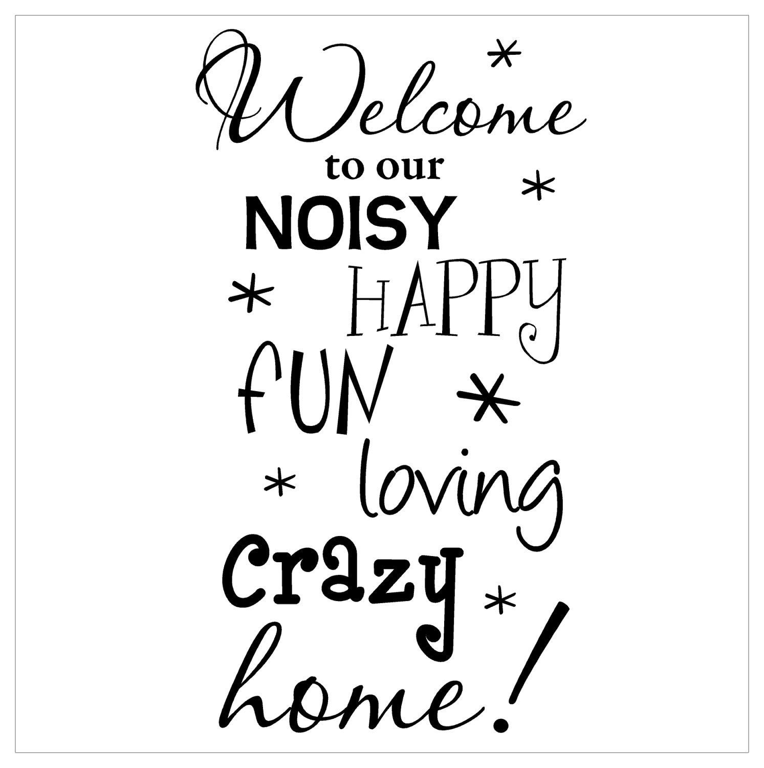 Items Similar To Welcome Wall Decal Vinyl Lettering On Etsy