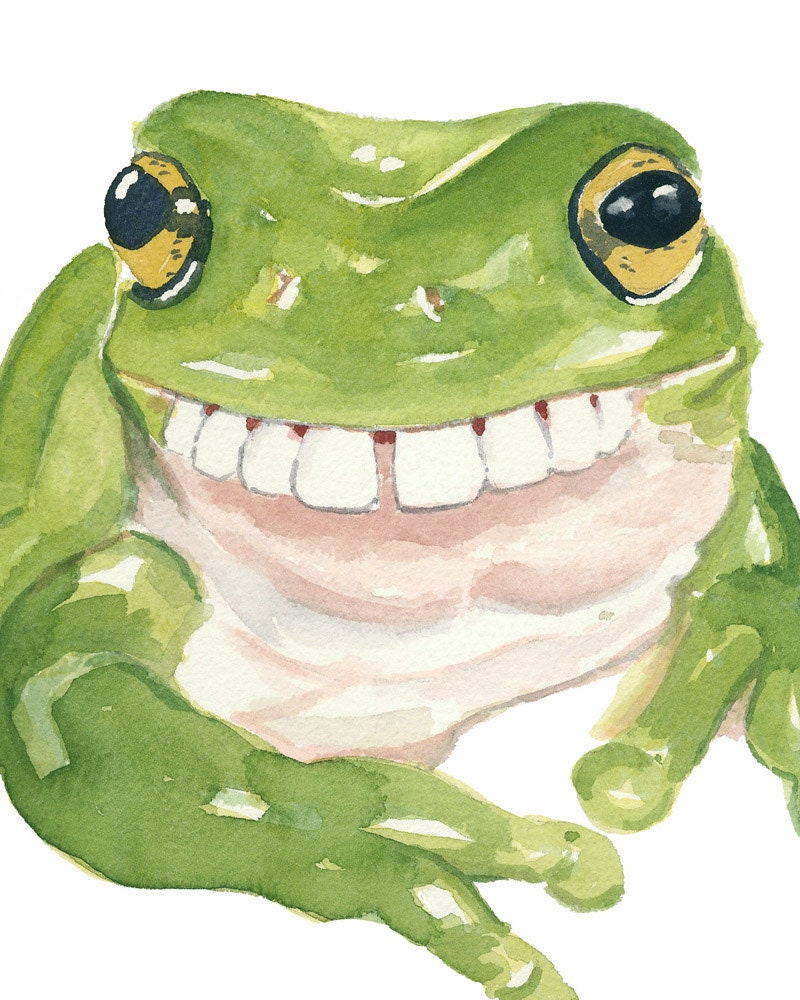 frog with human teeth pictures to pin on pinterest thepinsta