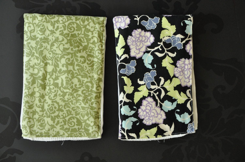Premium Burp Cloths - The Chloe Set - Christmas Gift/Stocking Stuffer