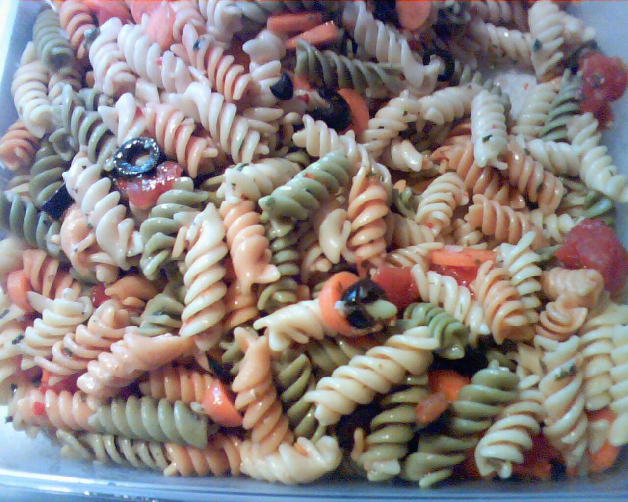 items similar to cold italian pasta salad recipe on etsy