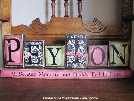 Baby Gift With Name : Girl s personalized and customized name by