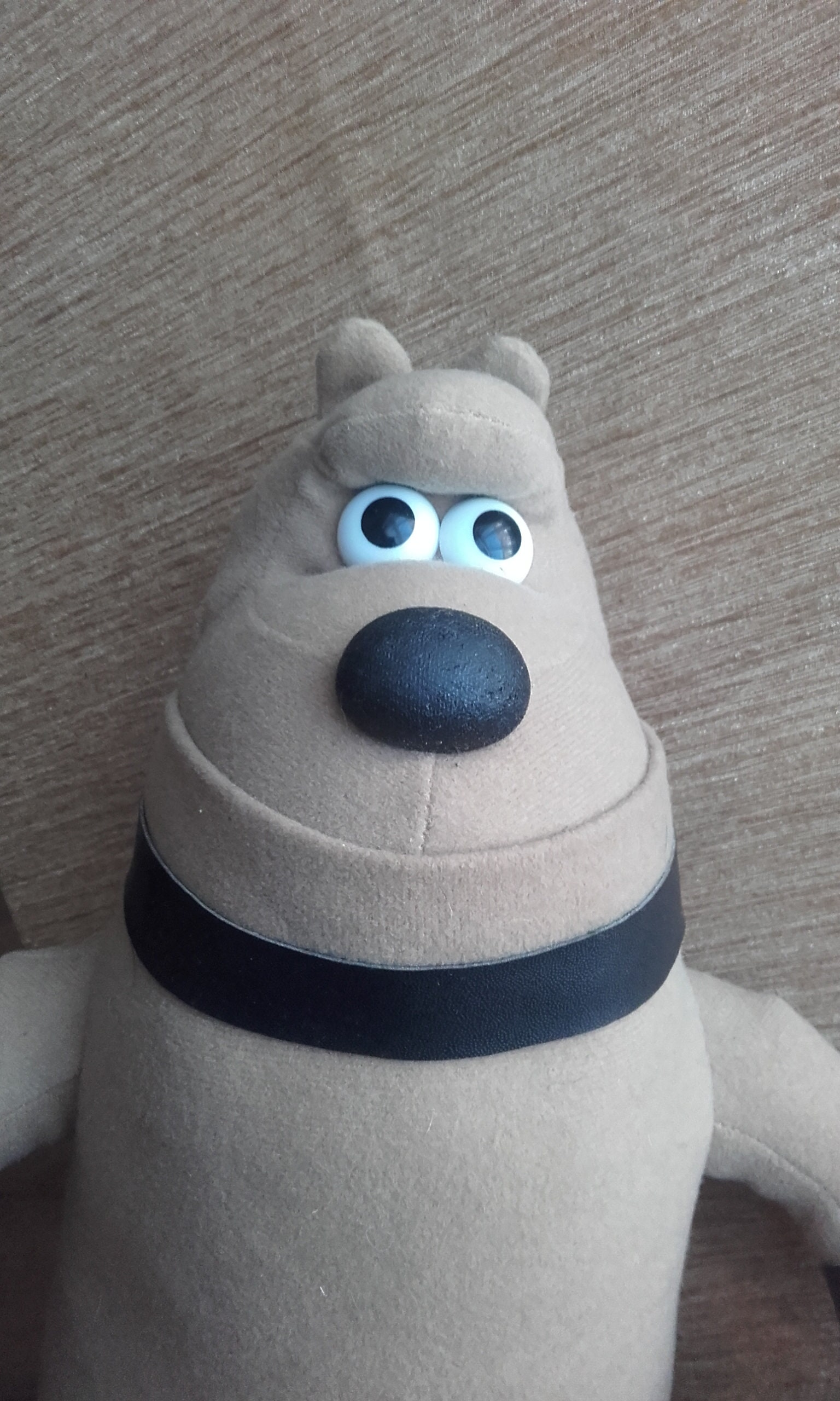 Wallace and Gromit Vintage Preston the Dog Stuffed Cuddly Soft Toy. 1989. Made by Born to Play TM. Plush Clean Condition.