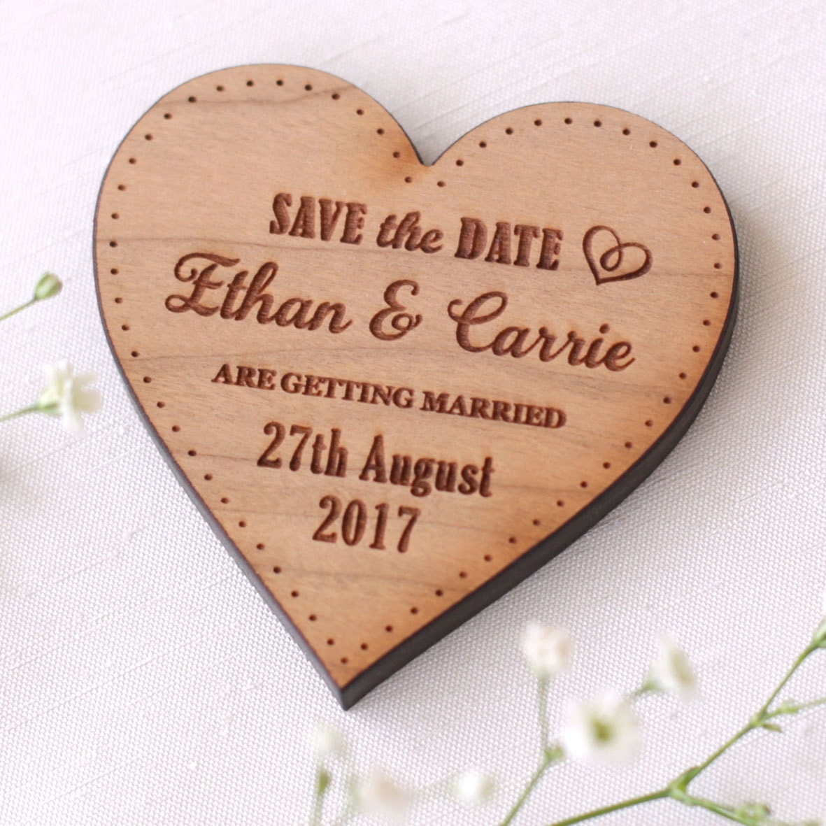 Save The Date Magnets Personalised Wedding Save The Date Magnets Wooden Save The Date Save The Date