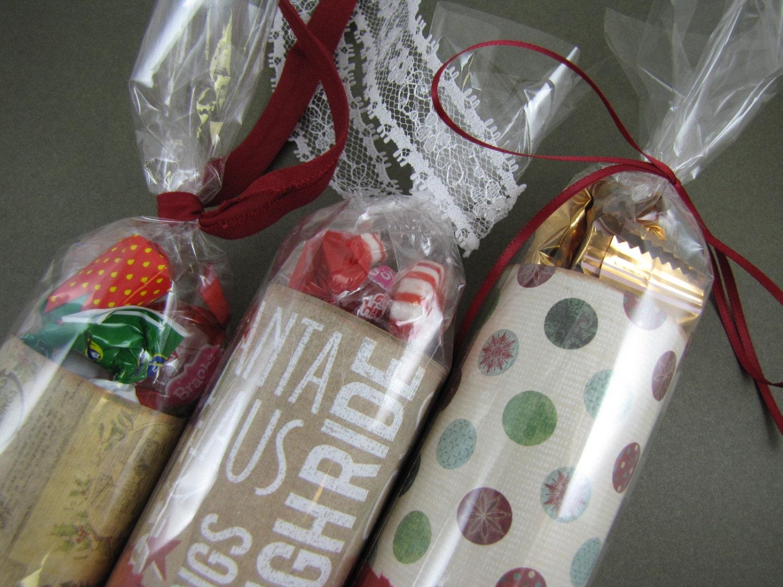 Christmas STOCKING STUFFERS Stuffed with Candy Set of 3 #0: il 340x270 s2i6