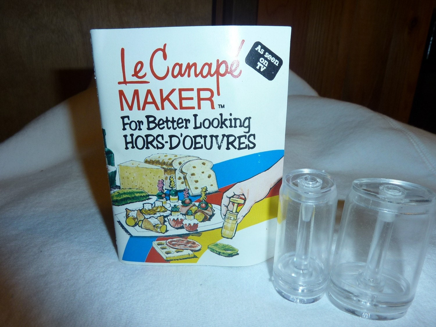 Le Canape Maker Of Le Canape Maker Vtg Canape Maker Set 1980s By Roselraty On