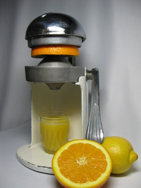Juice O Mat Vintage Citrus Juicer By Thefronthouse On Etsy