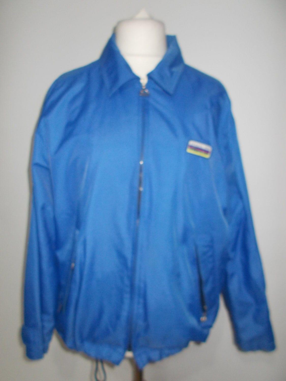 Vintage jacket 80s Football soccer harrington style jacket by Ellesse size medium large