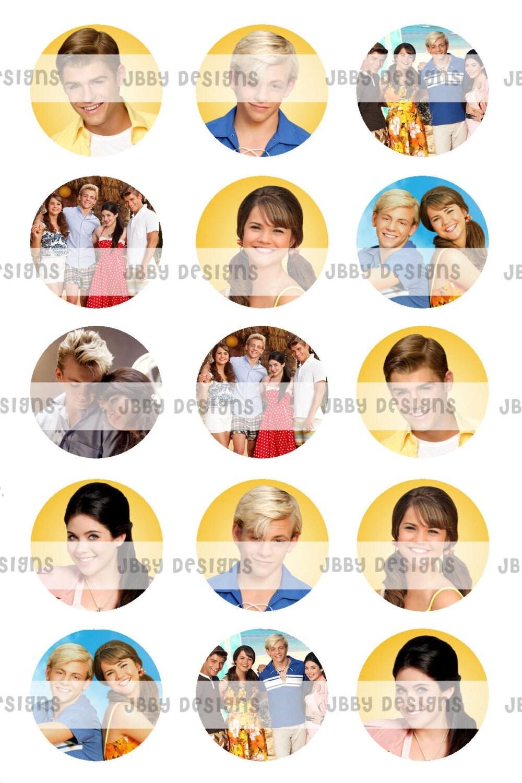 Teen beach movie 1 inch bottlecap images 4x6 sheet