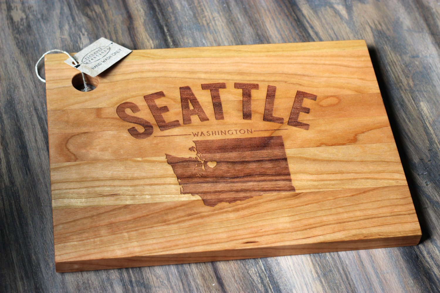 Richwood Creations Engraved Cutting Board City Gift Idea