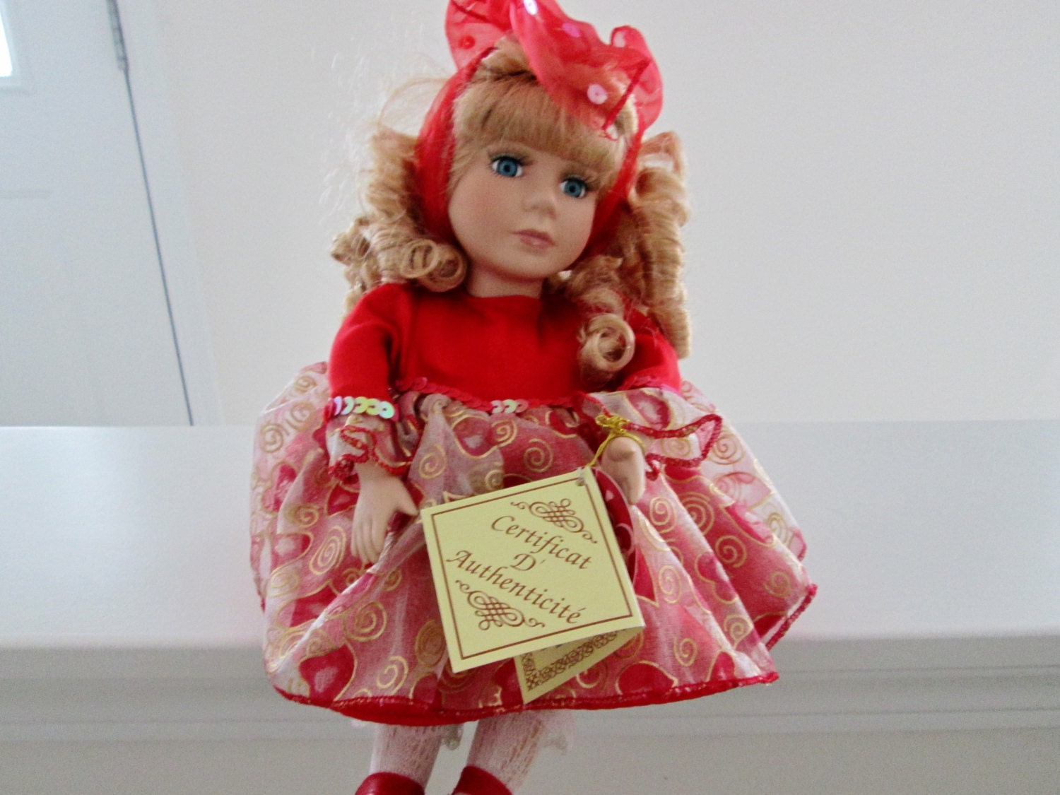 Vintage musical doll salco