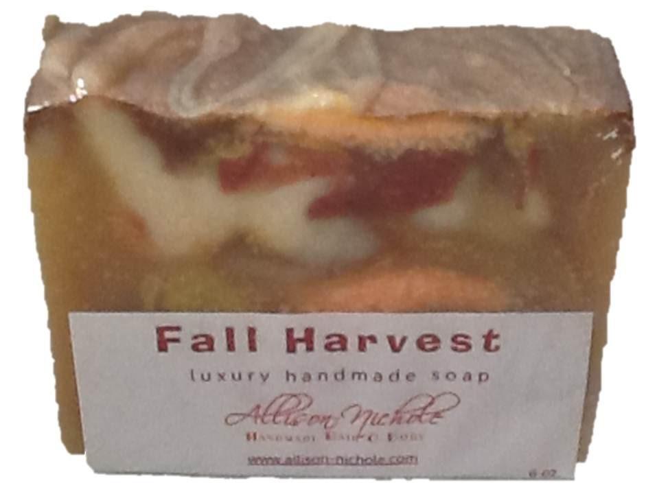 Fall Harvest Handmade Soap Bar - AllisonNicholeHBB