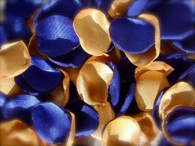 Resees blog plexiglass wedding invitations royal blue yellow