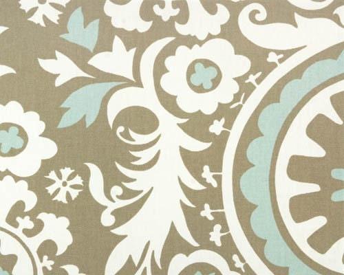 Premier Prints Suzani Powder Blue Home Decor By Scarletpoppe