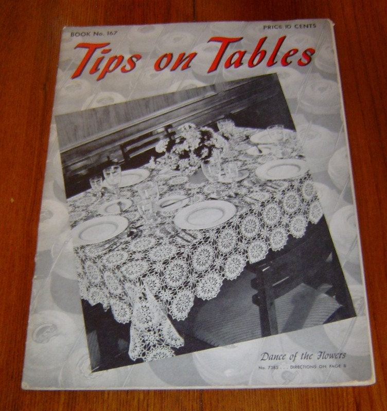 BARNES  NOBLE | Vintage Tablecloth Patterns To Crochet by Unknown