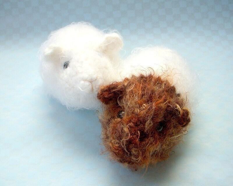 Crochet Amigurumi Guinea Pig : Guinea pig Crochet Amigurumi animal pattern / PDF by TGLDdoll