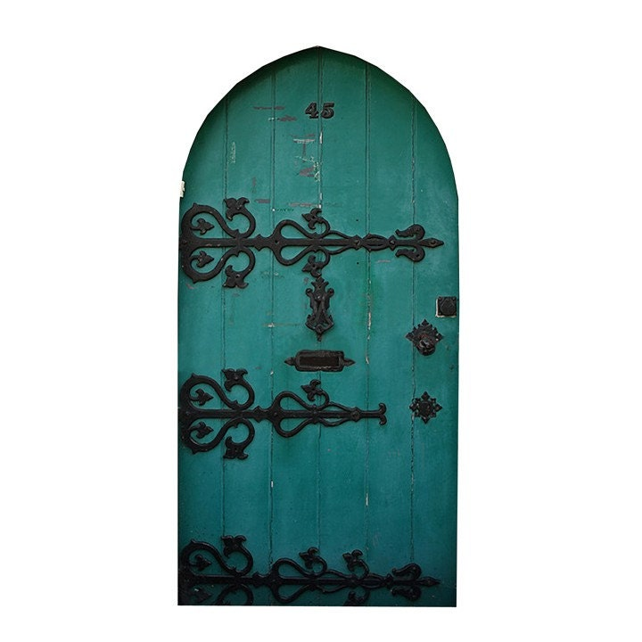 Green fairy door design 2 vinyl wall decal 4 by wilsongraphics for Fairy door for wall