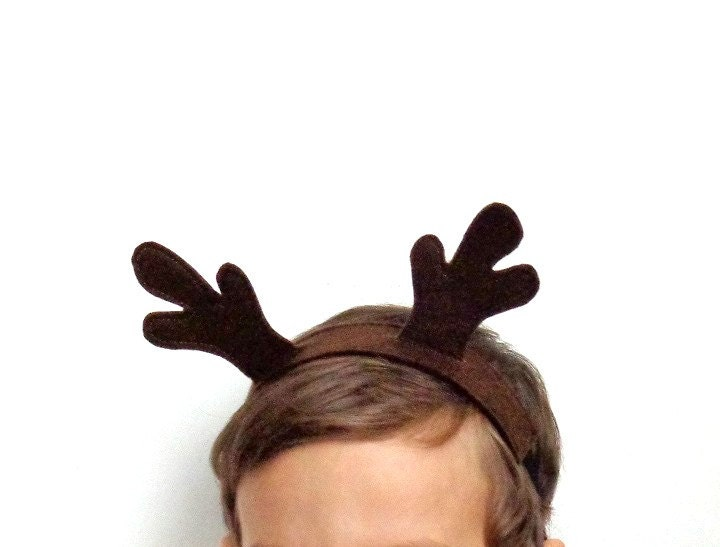 Brown Reindeer Antlers Template Images & Pictures - Becuo