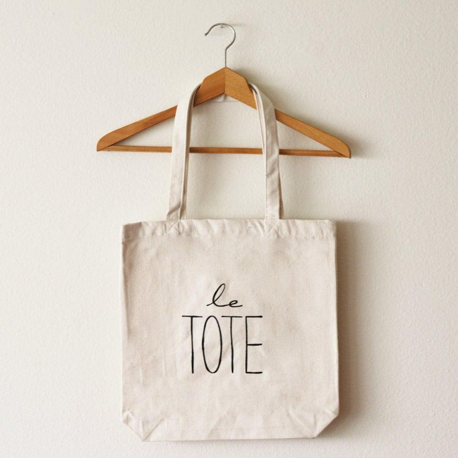 Le Tote Bag (Large) - OhLeanderShop
