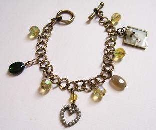 Charming Vingtage Brass Bracelet
