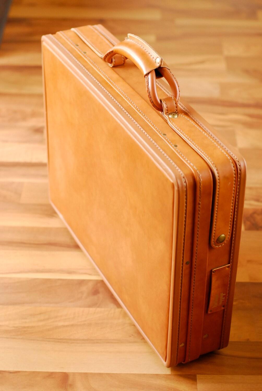 Vintage Leather Hartmann Case Briefcase Nos By