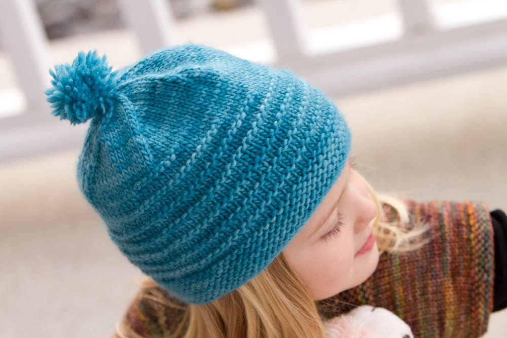 Knit Beanie Pattern Worsted Weight : KNITTING PATTERN for worsted weight hat for by AddiesmaDesigns