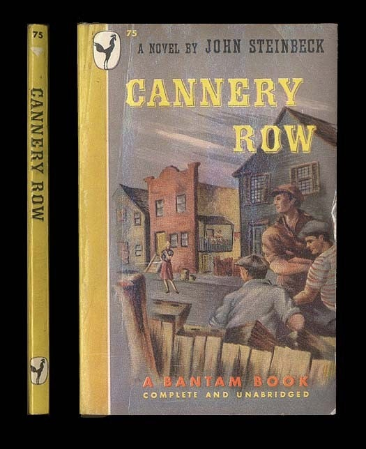 a summary of cannery row by john steinbeck In john steinbeck's cannery row, the author shows local life in a regional setting in monterrey, california he brings the reader the regular people, not the wealthy or powerful, but the average and marginalized.