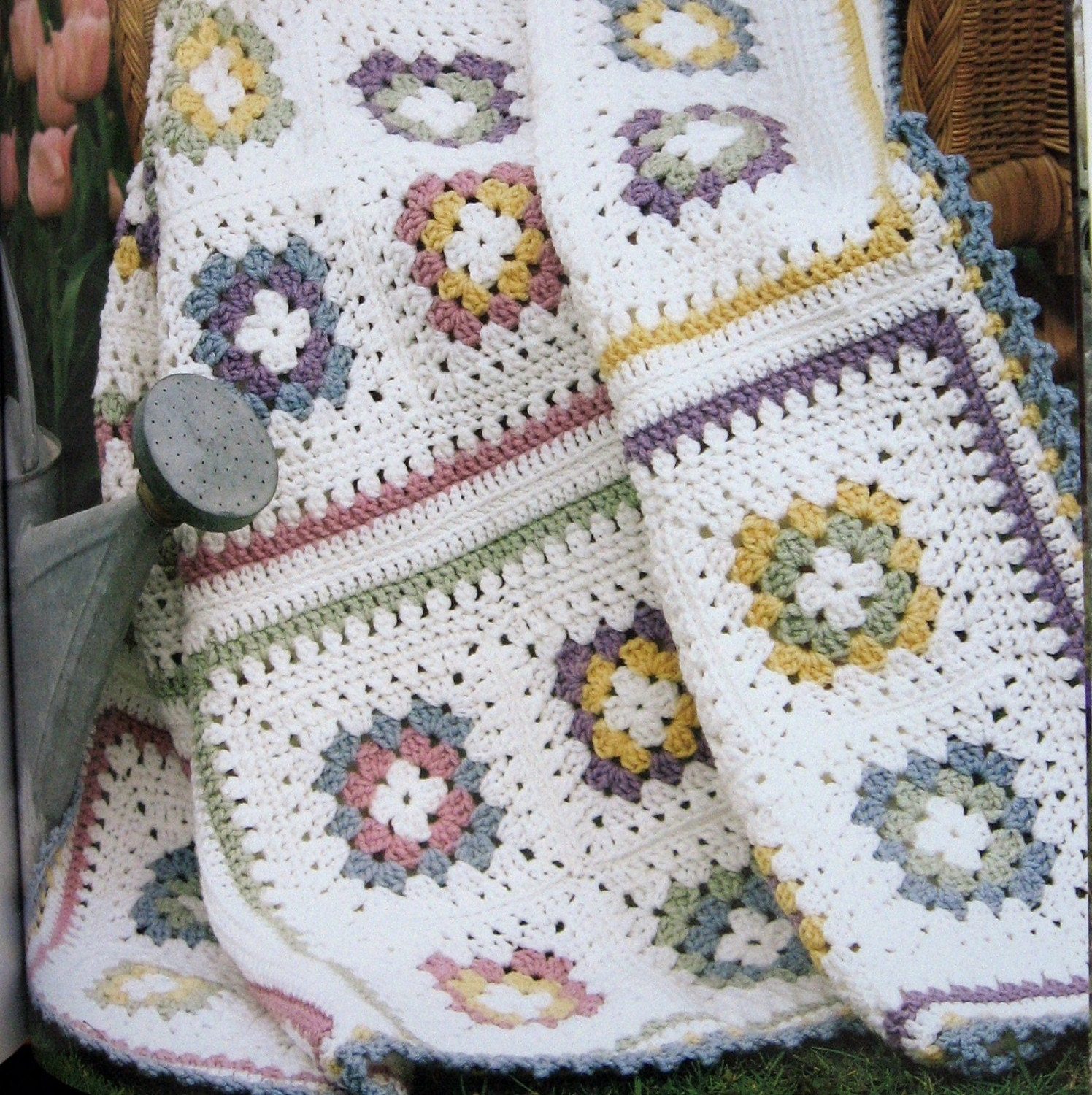 Crochet Blanket Patterns Quick : CROCHET AFGHAN PATTERNS Quick Stitch Hard Cover by kalliedesigns