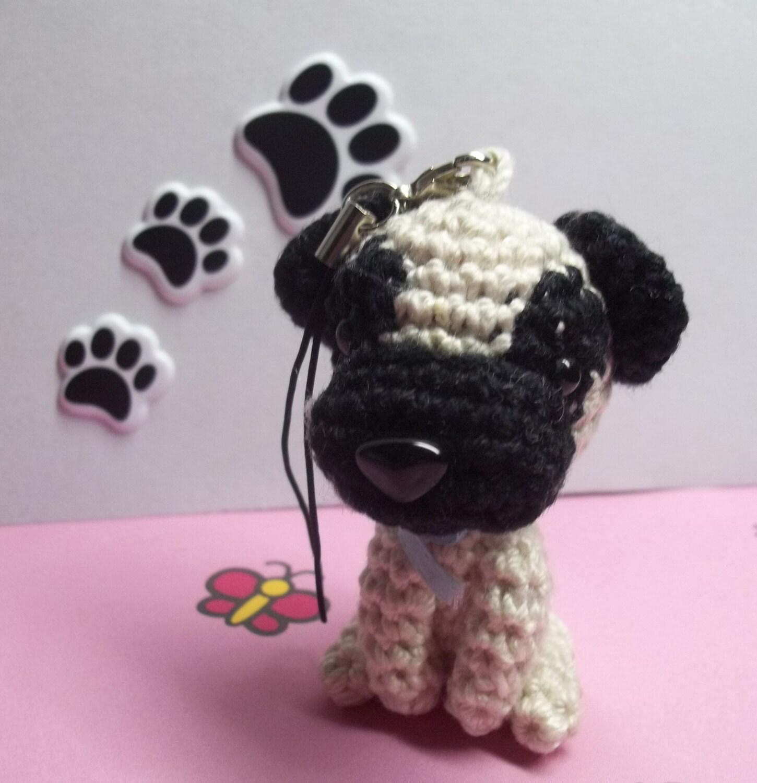 Amigurumi Perro Pug : Ganchillo amigurumi pug dogvery lindo por Lazyhookdesign ...
