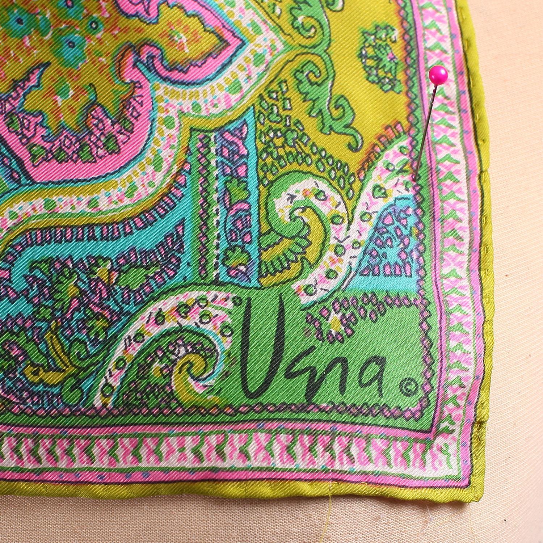 Vintage Silk Boho Scarf from Designer Vera  Oriental 70s Scarf Washing Vintage Silk Scarves