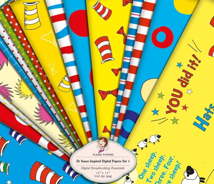 dr seuss wrapping paper This dr seuss-inspired party has long been on the banner events' party- planning bucket list it was such a thrill to plan and available in stripes, polka dots and chevron, i mixed and matched this versatile matte wrapping paper and used it as an inexpensive accessory it served as the backdrop for the.