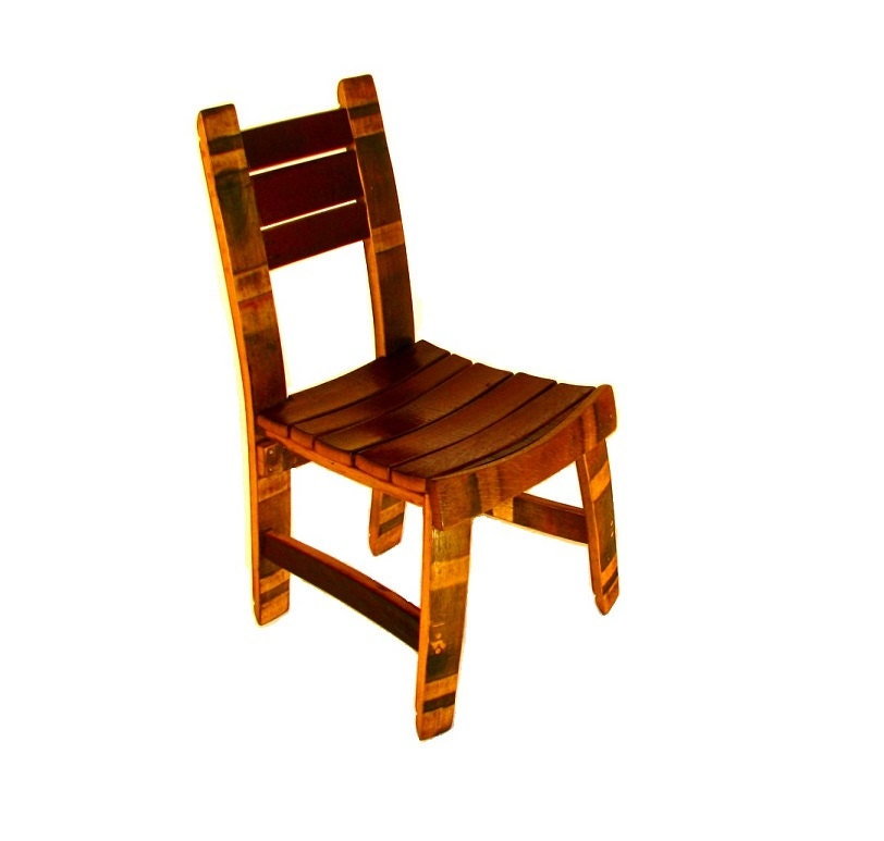 wine barrel dining room chair by hungarianworkshop on etsy
