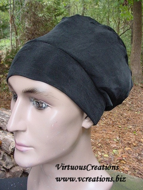 Natural Hair Accessories-Crown-Black-Locs-Unisex-Beanie