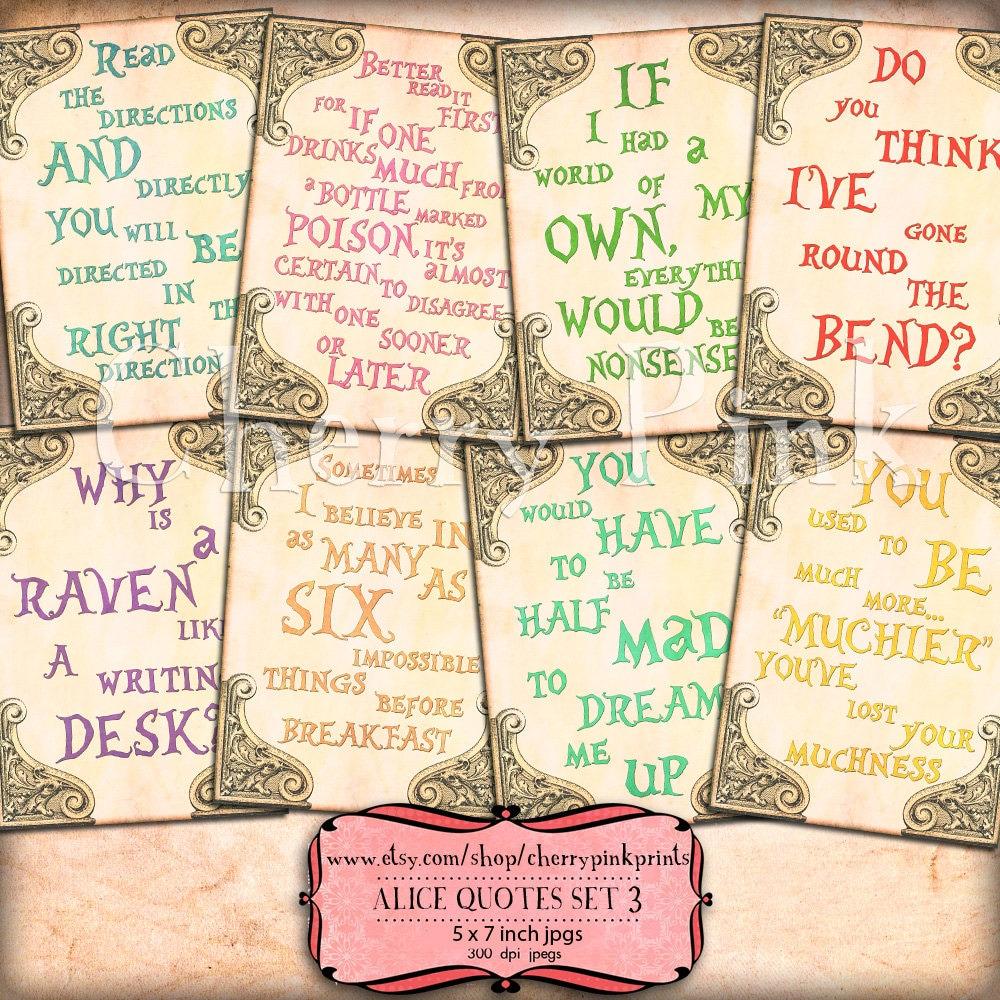 Tea Quotes Alice In Wonderland QuotesGram