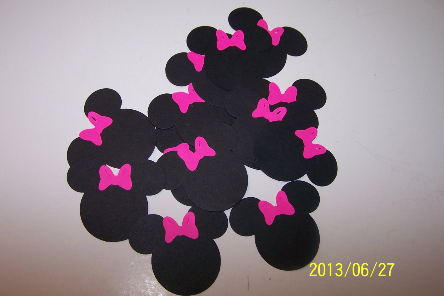 Minnie Mouse Red Bow Clipart Minnie mouse head ears bows