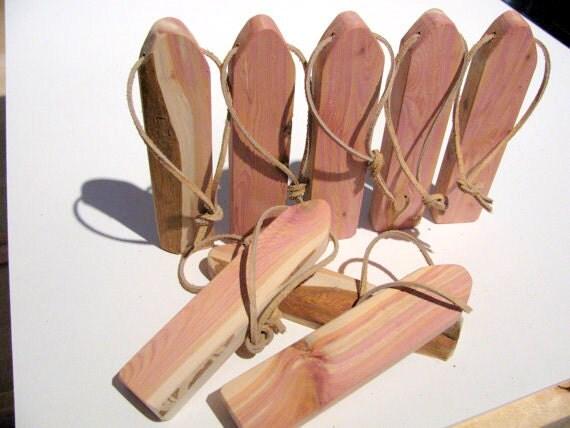 Eight Aromatic Air Fresheners Made Of Juniper Wood By Woodacooda