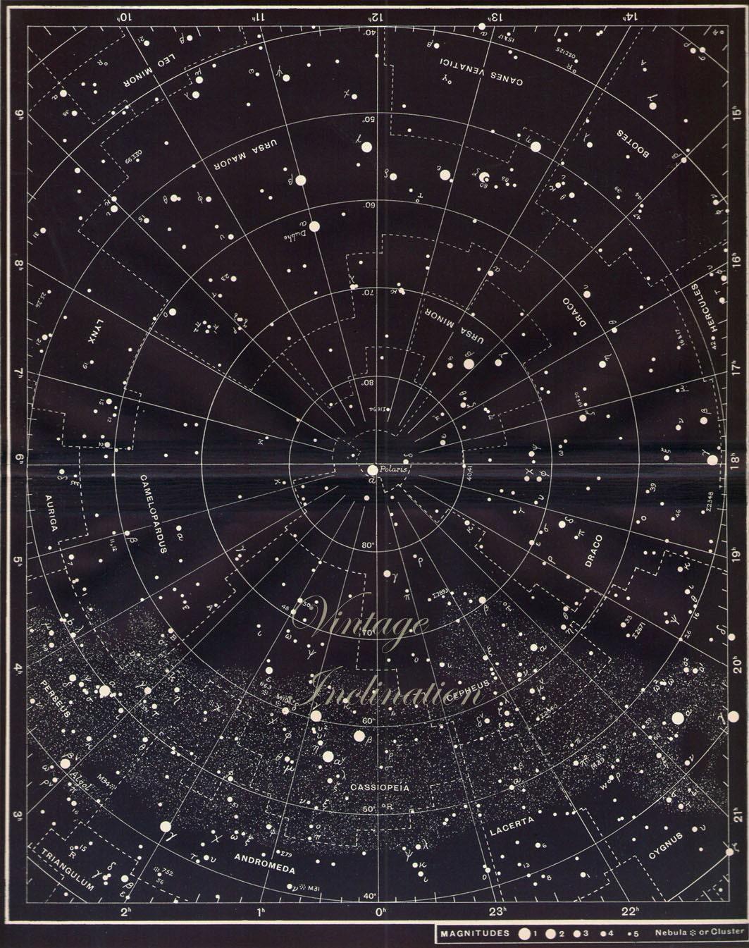 printable blank star chart images