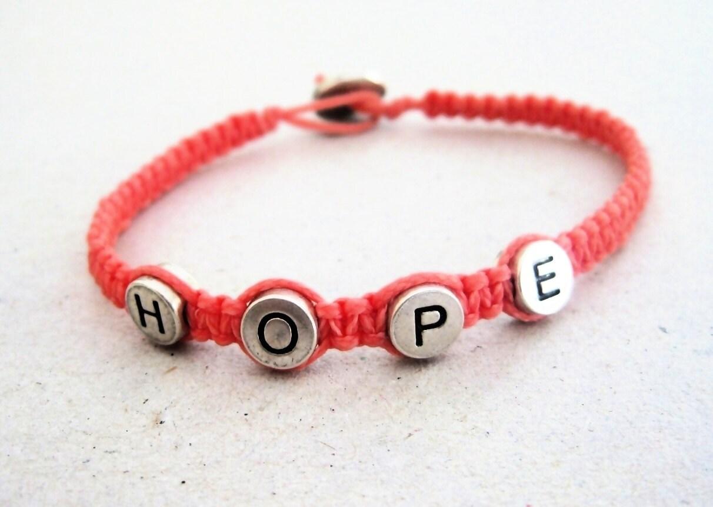 personalized name bracelet - macrame bracelet- custom made bracelet- unisex gift under 25 - beYOUtifulhandmade