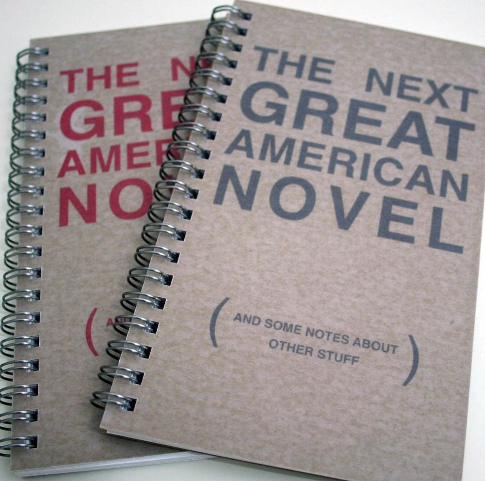Great American Novel Notebook - creatingstuff