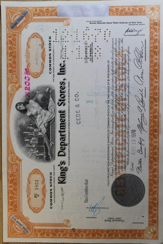 bond certificates common stock by handmadeandantique. Black Bedroom Furniture Sets. Home Design Ideas